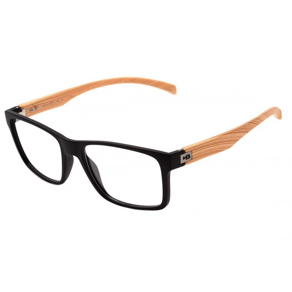 HB POLYTECH 93108 C.731 52 MATTE BLACK/WOOD