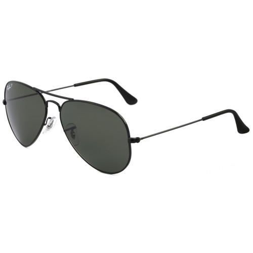 RAY BAN RB 3025L 002 58 58 AVIADOR POLARIZADO ... c5789d4961